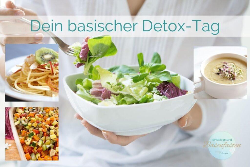 Dein basischer Detox-Tag. Basenfasten Test für einen Tag