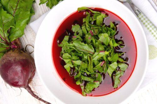 basisch kochen: Rote Beete Suppe mit Ingwer