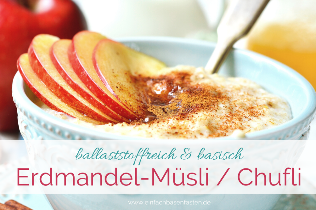 Basisches Frühstück zum Basenfasten. Chufas Nüssli, Chufli. Erdmandel-Müsli selber machen