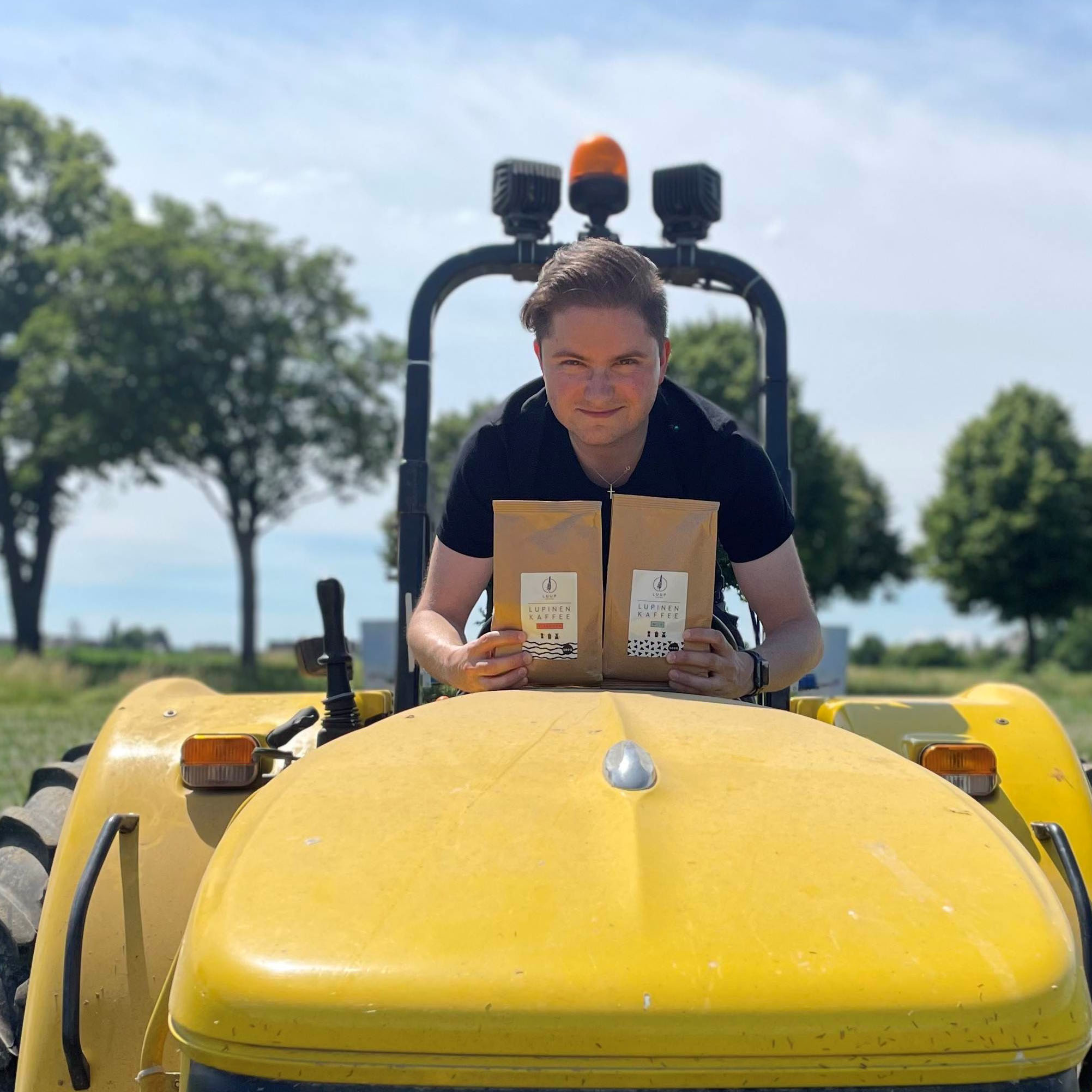 Christian. Founder von Luup Coffee auf Traktor