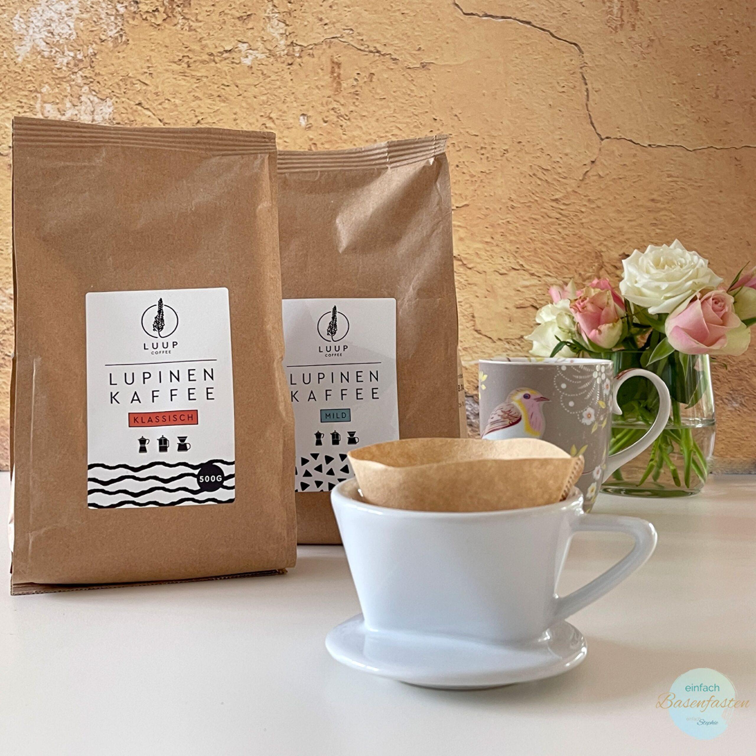 Luup Lupinenkaffee als leckere Alternative zu Kaffee. Koffeinfrei und basisch-1