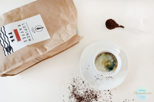 Luup Lupinenkaffee. Basischer Kaffee koffeinfrei