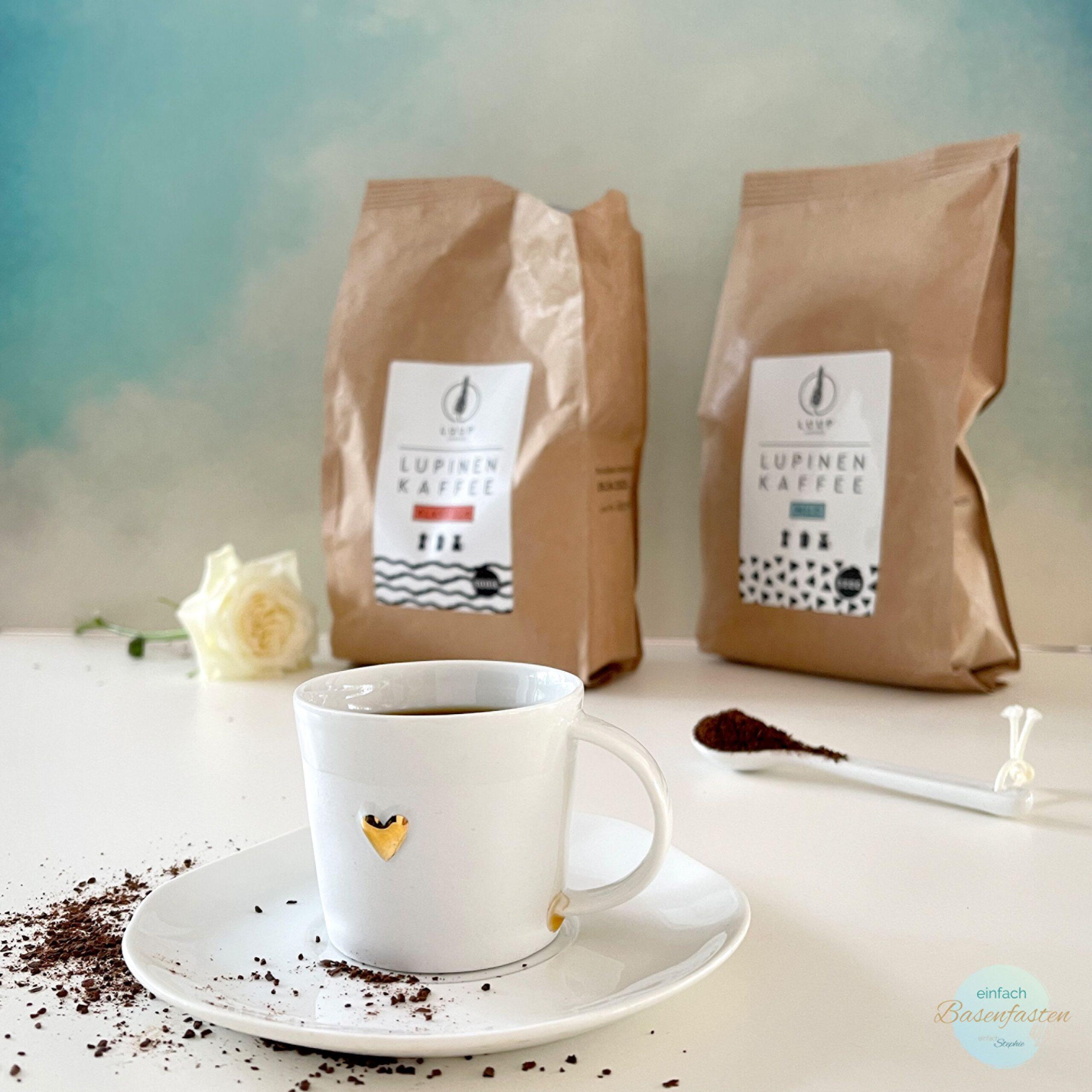 Luup Lupinenkaffee. Basischer Kaffee koffeinfrei Test